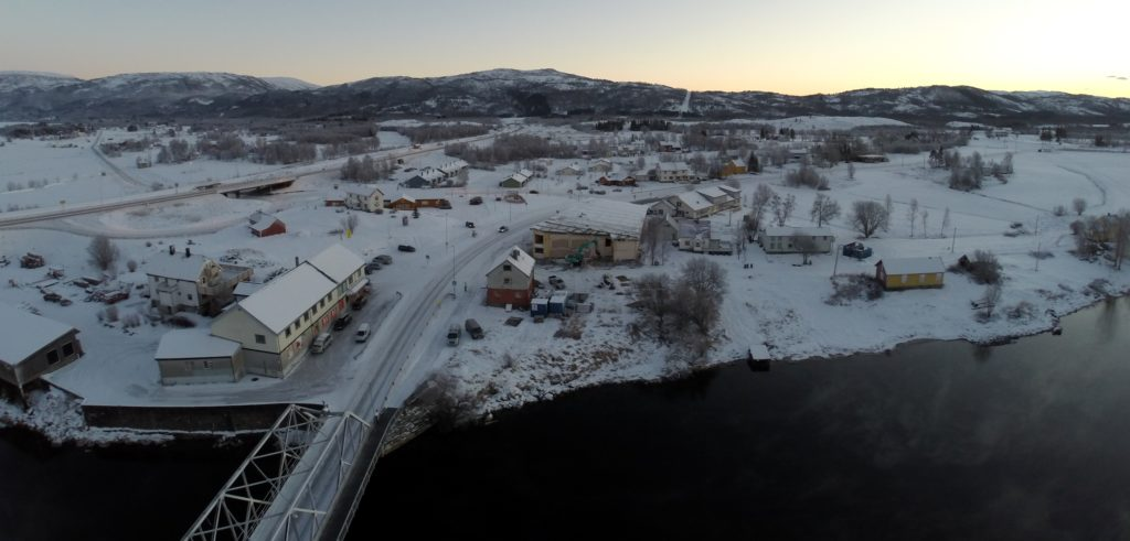 Straumsnes, Valnesfjord 18. desember