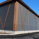 Bankgata idrettshall kledning håndballhall