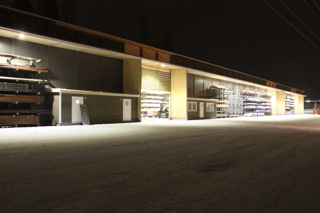 Kaldtlager i Ski ferdigstilt